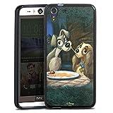 HTC Desire Eye Silikon Hülle Case Schutzhülle Disney Susi und Strolch Fanartikel Merchandise