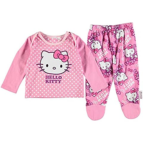 Disney Hello Kitty - Pijamas enteros - para bebé niña