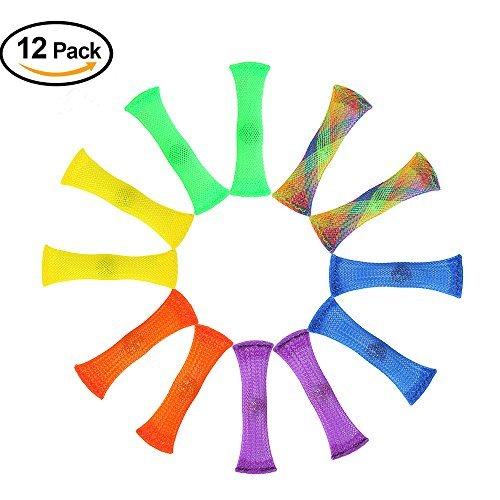 Juguetes de Fidget de TDAH (12 paquetes), CAVN Fidget sensorial juguetes aliviar el estrés y la ansiedad para niños y adultos con autismo y TDAH (terapeuta recomendado!)