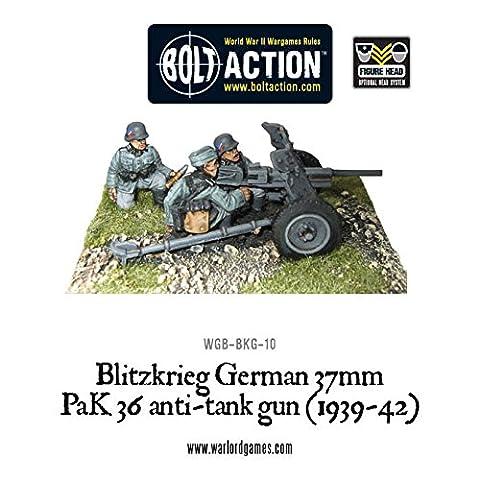 Bolt Action - Blitzkreig German 37mm PaK36 Anti-Tank Gun (1939-42) - Warlord Games
