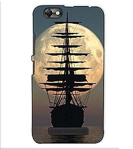 Fuson Designer Back Case Cover for Lenovo Vibe C :: Lenovo A2020 (The ship in the sea theme)