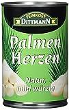 Feinkost Dittmann Palmenherzen natur, mild-würzig, 3er Pack (3 x 400 g)