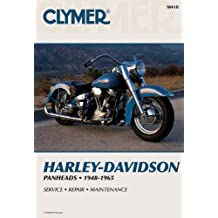 Clymer Harley-Davidson H-D Panheads 48-65: Service, Repair, Maintenance: Clymer Workshop Manual