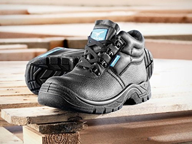 Glenwear nero Morton Safety stivali uomo, taglia 10 | Trasporto Veloce  | Uomo/Donna Scarpa