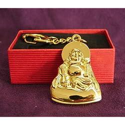 Metal Buda llavero para protección