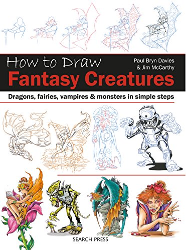 How to Draw Fantasy Creatures (English Edition) -