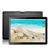 Auntwhale 2018 Newer NERLMIAY Pantalla HD de 9,7', Tablet PC con pantalla táctil Windows 10,2 en 1, procesador Intel de cuatro núcleos, 2GB + 32GB, Wi Fi Bluetooth Android 5.1 (Negro)