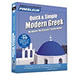 Greek (Modern), Q&s: Learn to Speak and Understand Modern Greek with Pimsleur Language Programs (Pimsleur Quick and Simple)