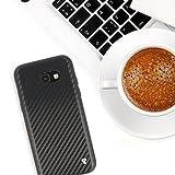 PULSARplus® Samsung Galaxy A5 2017 Hülle Handyhülle Black Carbon Design Case schwarz. Dünne Schutzhülle Cover Bumper für das Samsung Galaxy A5 2017 Vergleich