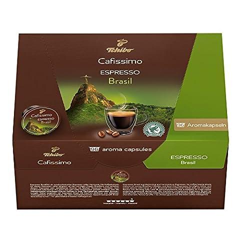 Tchibo Cafissimo 96er Kapseln Espresso Brasil , Vorrats Box
