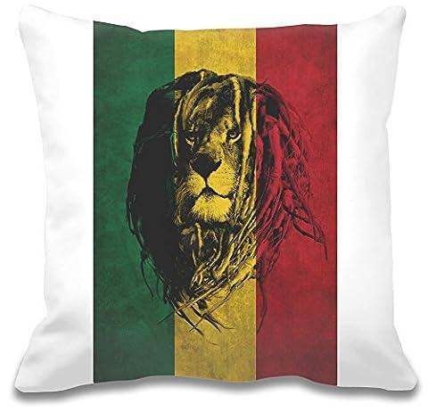 Lion de Juda Drapeau Custom décoratif pillow| Ultra Doux et de grande qualité polyester| Personnalisez votre taie d'oreiller W/Notre unique et authentique designs| décoratif oreillers par Bang bangin