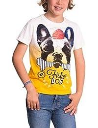 Desigual - Camiseta de Manga Corta - para niño