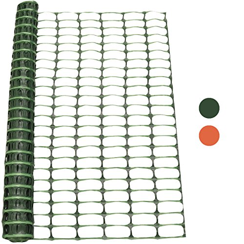 *Woodside – Kunststoff-Hühnerzaun – Maschengewebe – Grün – 1 x 50 m (H x L)*