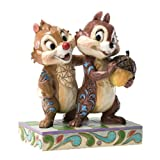 Enesco Disney Traditions by Jim Shore Chip and Dale Figurine, 4.5-Inch by Enesco