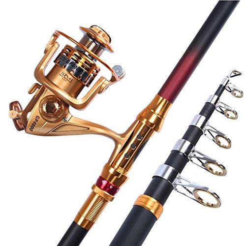 MIAO Fishing Rod, Carbon Ultra-Light Ultra-Hard Long Throw