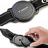 52-58-67 Porte Bouchon avant 52MM 58MM 67MM Porte Cache pour objectif 52 mm 58 mm 67 mm support pour Canon Nikon Pentax Tamron Sigma Sony etc - ADAPTOUT MARQUE FRANÇAISE