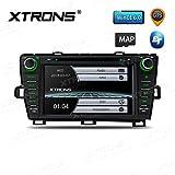 Xtrons 20,3cm HD digitale touch screen Car stereo radio In-Dash lettore DVD con GPS Dual Channel Canbus Screen mirroring funzione per Toyota Prius 2009–2013