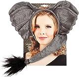 Boland 52309 - Kostümset Elefant, Haarreif und Schwanz