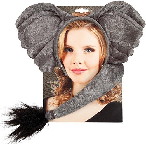 Boland 52309 - Kostümset Elefant, Haarreif und ()