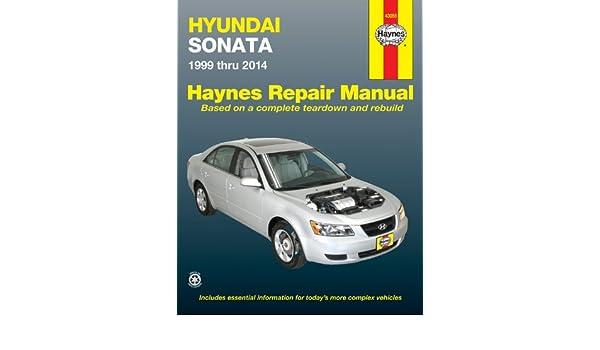 buy hyundai sonata 1999 thru 2014 automotive repair manual book rh amazon in hyundai sonata haynes repair manual for 1999 thru 2014 pdf 2002 Hyundai Sonata