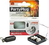 Alpine PartyPlug - Gehörschutz für Musik, Konzerte & Disco, Gratis Miniboxx, weiß