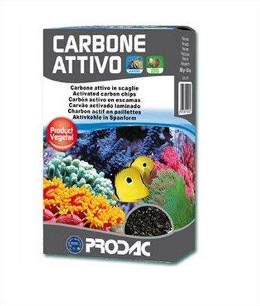 Charbon actif d'origine végétal Prodac pour Filtres à eau (250g)