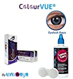 ColourVUE Eyelush Aqua Color Zeropower Q...