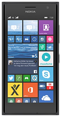 Nokia Lumia 730 Smartphone (4,7 Zoll (11,9 cm) Touch-Display, 8 GB Speicher, Windows 8.1) grau (Windows Phone 8 Nokia)