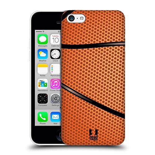 Head Case Designs Hardcover-Schutzhülle für Apple iPhone 5 / 5S, Motiv Volleyball Basketball