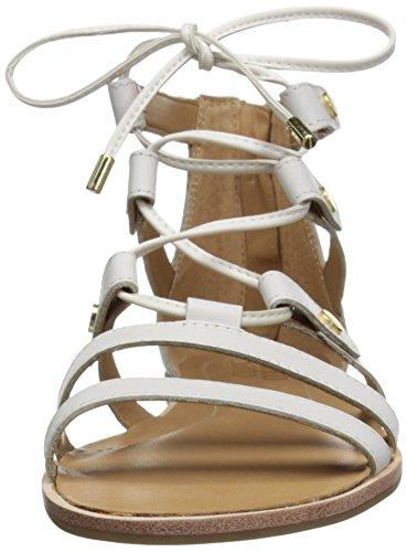 Franco Sarto Baxter Leder Gladiator Sandale White