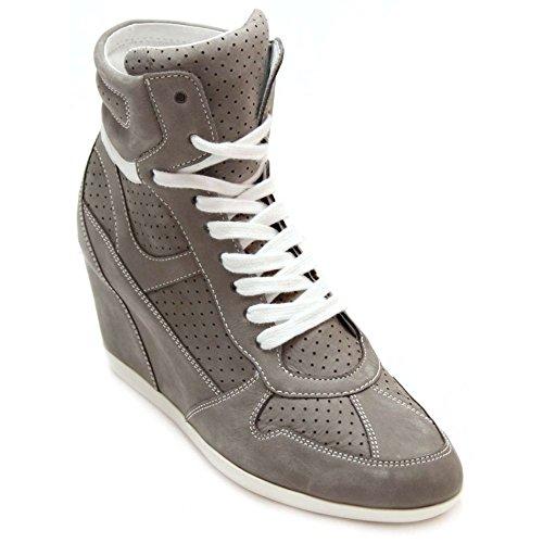 Marc Shoes 1.681.06-39 Sneaker Veloursleder Grau