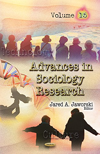 Advances in Sociology Research. Volume 15