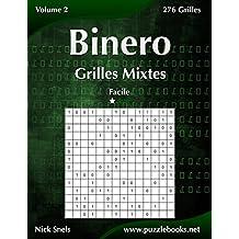 Binero Grilles Mixtes - Facile - Volume 2-276 Grilles