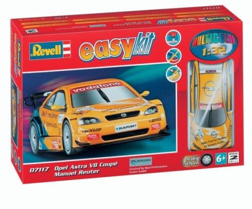 Revell 07117 Easy Kit - Maqueta de Opel Astra V8 Coupé Manuel Reuter (Escala 1:32)