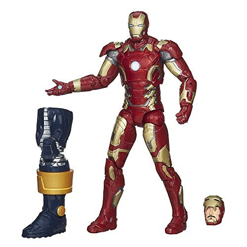 Marvel Legends Infinite Series Iron Man Mark 43 15 cm Figure - Avengers: The Age of Ultron