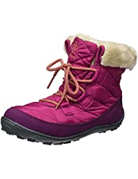 Columbia Youth Minx Shorty Omni-Heat Waterproof, Botas de Nieve Para Niñas