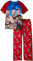 John Cena, Rock and Punk Big Boys WWE Pyjama Set, Sizes 4-12