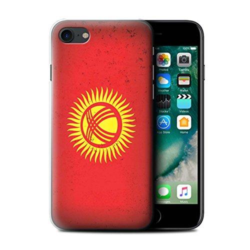 Stuff4 Hülle / Case für Apple iPhone SE / Usbekistan/Usbekistan Muster / Asien Flagge Kollektion Kirgisistan