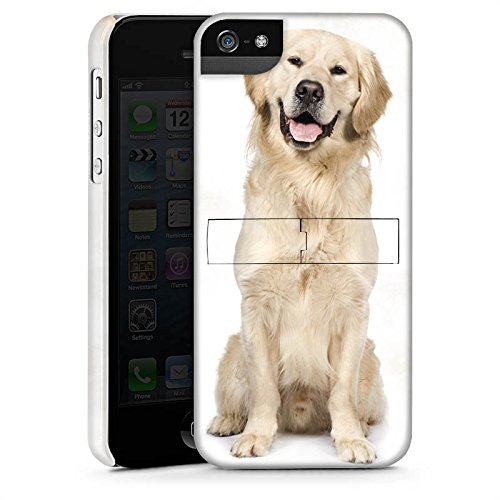 Apple iPhone 6s Plus Silikon Hülle Case Schutzhülle Golden Retriever Hund Dog Premium Case StandUp