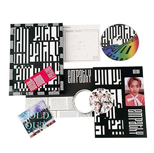 NCT 2018 Album - Empathy [ Reality Ver. ] CD + Photobook + Photocard + Diary + Lyrics + FREE GIFT / K-pop Sealed
