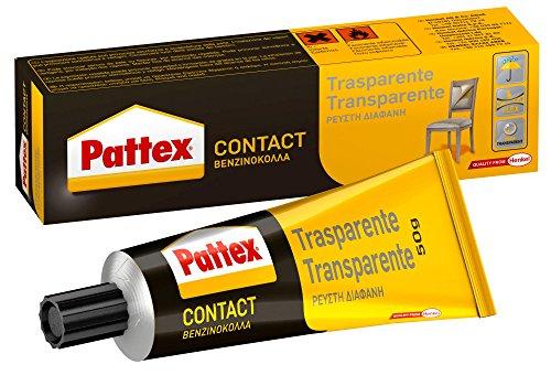 Pattex 1419320 Contact Adesivo, 50 g, Trasparente