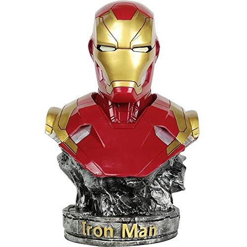 Jia He Figura de acción Iron Man Marvel Super Hero Modelo Avengers Mi