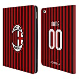 Head Case Designs Personalizzata Personale AC Milan Home 2019/20 Kit Cover in Pelle a Portafoglio Compatibile con iPad Air 2 (2014)