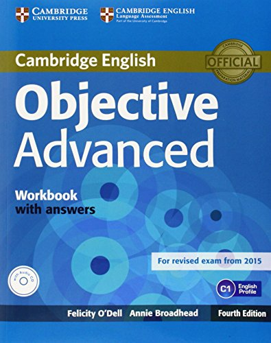 Objective Advanced Workbook with Answers with Audio CD by Felicity O'Dell (17-Jul-2014) Paperback