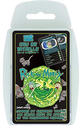 Winning Moves - Top Trumps Rick y Morty, 0427, Version Francesa