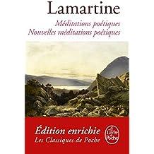 Méditations poétiques nouvelles méditations poétiques (Classiques t. 21024) (French Edition)
