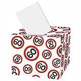 Geldgeschenk-Box zum 60 Geburtstag Pappe, 30 x 36 x 36 cm