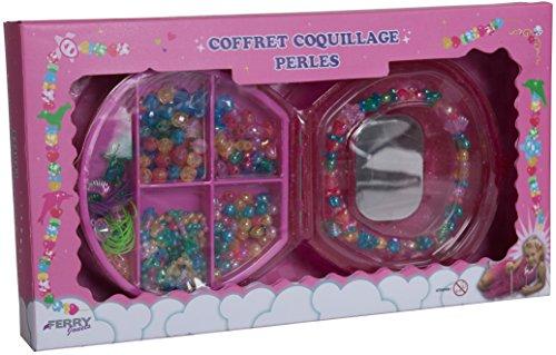 sans marque Coffret Coquillage avec Perles Modèle Aléatoire
