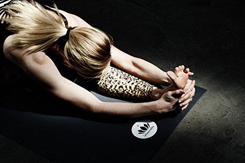 Lotuscrafts Mudra Studio Tapis de yoga Violet Aubegine Standard