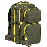 US Cooper Rucksack Basic large oliv/gelb